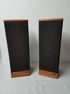 vintage advent prodigy tower speaker pair reverb