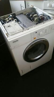 mein alte miele waschmaschine ablauf zulauf blinkt