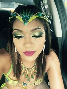 my carnival tuesday makeup look carnival on the