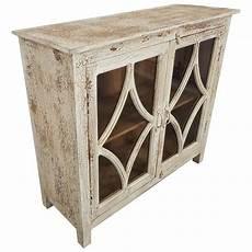 anrichte vintage kommode anrichte vitrine schrank wei 223 massivholz vintage