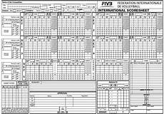8 free sle volleyball score sheet templates printable