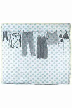 Housse De Couette Dressing Grey Lit 2 Personnes Textiles