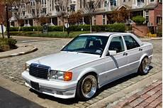 mercedes w201 190e 2 6 white on bbs wheels benztuning