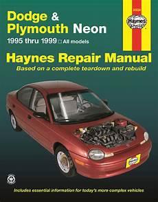 book repair manual 1999 dodge neon parking system dodge plymouth neon 95 99 haynes repair manual haynes manuals
