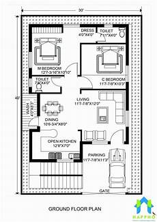 house plans in 30x40 site 40 x 30 house plans unique floor plan for 30 x 40 feet