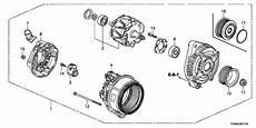 honda fit alternator wiring diagram 31100 r70 a01 genuine honda alternator assy csf91 denso