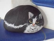124 Besten Bemalter Stein Bemalte Steine Katzen Tiere