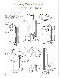 woodpecker house plans birdhouse plans index attract bird families
