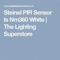 steinel pir sensor is nm360 white the lighting superstore lighting