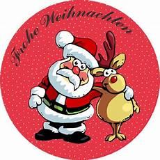 elch frohe weihnachten weihnachtsmann aufkleber 24 st 252 ck