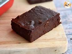 Fondant Au Chocolat Et Haricots Rouges Sans Gluten