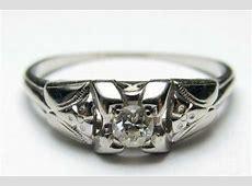 Vintage Rings 1940'S   eBay