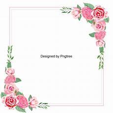 bordure en fleur pink floral pink clipart png transparent clipart image