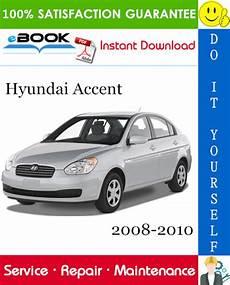 hyundai accent service repair manual 2008 2010 download pdf download