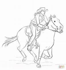 ausmalbilder cowboy indianer malbild