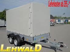 pkw anhänger 1200 kg gebremst gebraucht hochlader 220 berlader 2000kg pkw anh 228 nger plane hochplane 3