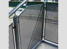 Stainless Steel Balustrade Infill   Graepel Perforators