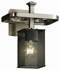wire arcadia 1 light wall sconce with square flat rim shade transitional wall sconces