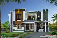 contemporary house plans in kerala 2352 sq ft awesome contemporary kerala home design