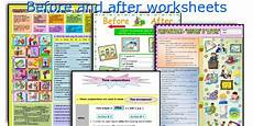 before and after worksheets