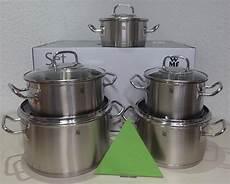 homann schenken kochen wohnen wmf topf set profima 5