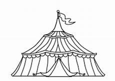 Kinder Malvorlagen Zirkus Zirkus Ausmalbilder Zirkuszelt Clowns Artisten Tiere