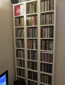 5 x ikea benno gnedby billy cd dvd tower bookcase