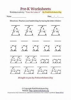 free preschool worksheets alphabet letter tracing