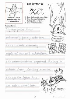 handwriting worksheets year 4 cursive 21651 handwriting conventions qld year 4 teachers 4 teachers educational resources and supplies