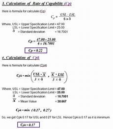 calculation of standard deviation cp cpk in spc sap blogs