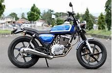 Cb Classic Modif by 70 Gambar Modifikasi Honda Cb100 Klasik Antik Otomotif
