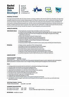 web developer resume sle and tips web developer