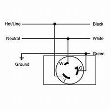 2320a receptacle twist lock wiring diagram nema l5 30r 30a 125v twist lock wall outlet receptacle us 3 wire industrial