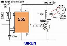 siren 100db circuit