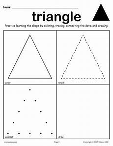 shapes worksheets practice 1229 12 shapes worksheets color trace connect draw shapes worksheets triangle worksheet
