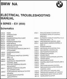 1991 bmw 325i fuse box diagram 1991 bmw 850i electrical troubleshooting manual original