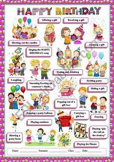 s birthday worksheets 20261 happy birthday vocabulary esl worksheet by despinacy