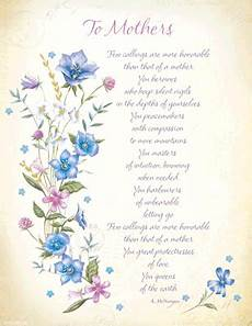 s day printable cards and poems 20492 to mothers poem s day poems printable cards
