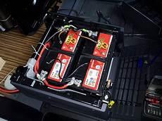 m 246 glichst quot gro 223 e quot aufbaubatterie unter fahrer