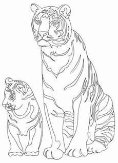 ausmalbilder tiger malvorlagen ausdrucken 3