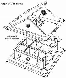 how to build simple purple martin house plans pdf plans