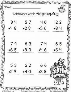 2nd grade math worksheet subtraction without regrouping math addition with regrouping free 2nd grade