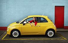 Fiat 500 With Retro Colours Cars Cars Fashion