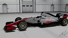 F1 2018 Haas Formula Hybrid Racedepartment