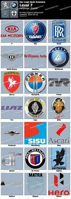 Car Logo Quiz Level 7 Solver