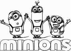 Malvorlage Minion Geburtstag Malvorlage Minion Ausmalbild Minions Geburtstag Ausdrucken