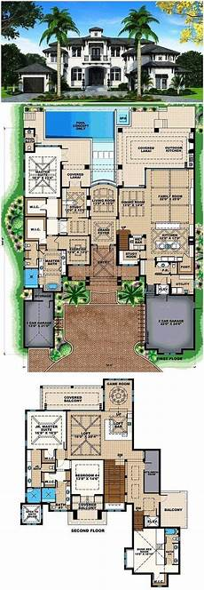 mediterranean house plans with pool house plans mediterranean pools 24 ideas in 2020