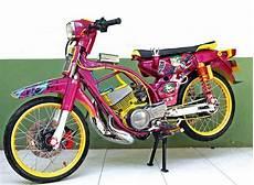 Yamaha V80 Modifikasi Mesin by Yamaha V80 Pati Saat Si Robot Disokong King Ogah