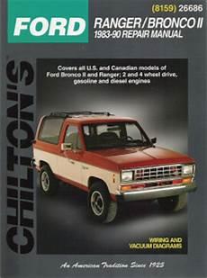 car repair manual download 1990 ford ranger instrument cluster 1983 1990 ford manual ranger bronco ii chilton s total car care manual