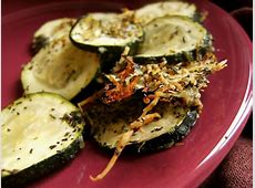 zucchini rounds side dish   sandra lee   semi homemade image